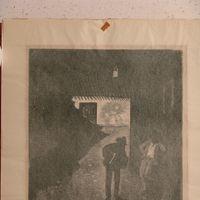 Retro del dipinto