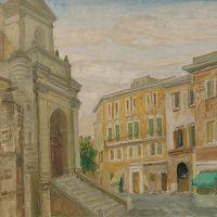 """Mario Delitala """"Angolo del Duomo"""""""