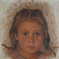 "Francesca Devoto ""Testa di bambina"""