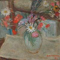 """Pietro Antonio Manca """"Vaso con fiori"""""""