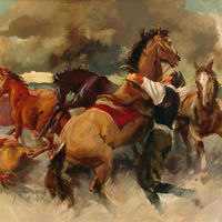 "Adolfo Floris ""I cavalli"""
