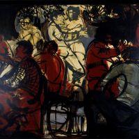"Liliana Cano ""Sagra paesana"" trittico 3/3"