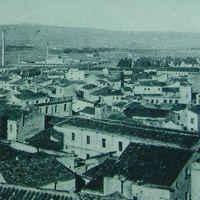 Una veduta ripresa dai tetti del vecchio Convitto Canopoleno dove si riconosce lo stabile dell'antico Convento di Santa Chiara