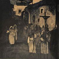 """Giuseppe Biasi """"Processione della Via Crucis"""""""