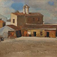 """Giuseppe Biasi """"il convento di Santa Chiara - Chiesa delle Monache Cappuccine"""""""